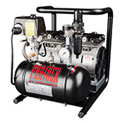 Quiet Oil-Free Air Compressors