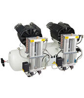 Straight Piston Oil Less Compressor Packages
