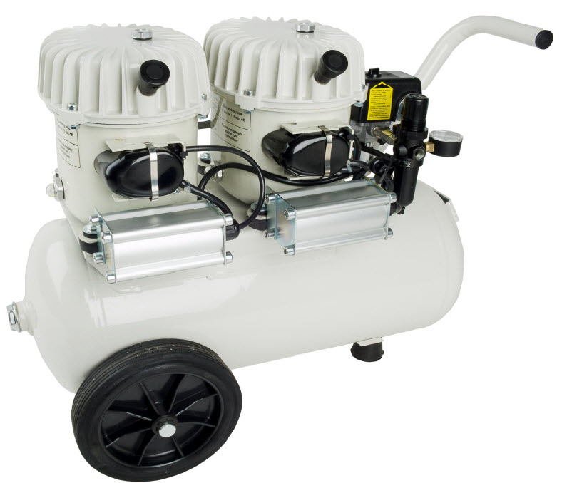 P100/24AL 220V Ultra Quiet Oil Lubricated Air Compressor